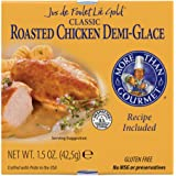 More Than Gourmet Jus De Poulet Lie Gold Roasted Chicken Demi-glace, 1.5-Ounce Packages (Pack of 6)