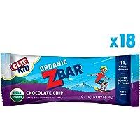 Clif Kid Zbar 1.27 oz Organic Energy Bar Chocolate Chip (18 Bars)