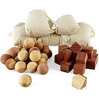 Aszaro Cubos y bolas de cedro en saquitos