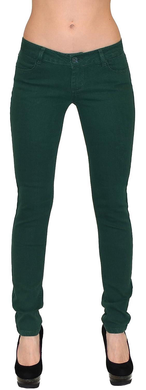 by-tex Jean femme Jeans pour femmes taille basse pantalon en jean femme  skinny en 4 couleurs Z90: Amazon.fr: Vêtements et accessoires
