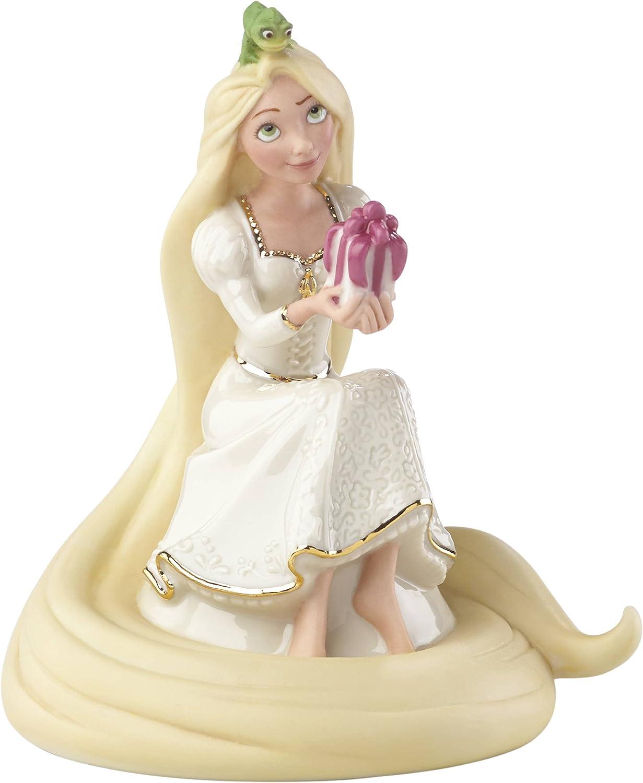 1985 Fairy Tale Mint! Legendary Princess Collection Home Decor Lenox PRINCESS RAPUNZEL FANTASTIC Hand-Painted Bisque Porcelain