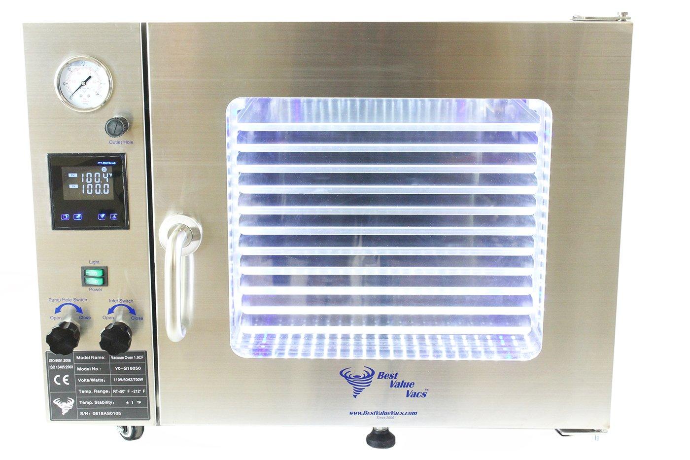 Best Value Vacs 1.9CF - Horno de vacío para interiores y ...
