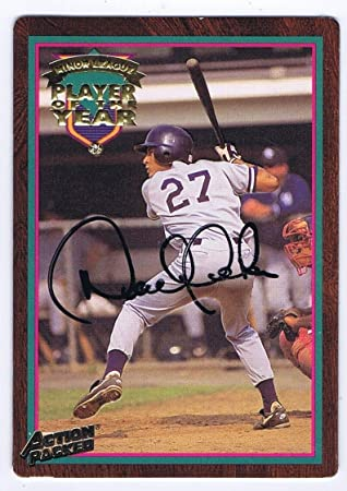 Derek Jeter Autographed Signed Action Packed Minor League