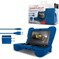 DREAMGEAR Power Play Kit: Blue for New Nintendo 3DS XL