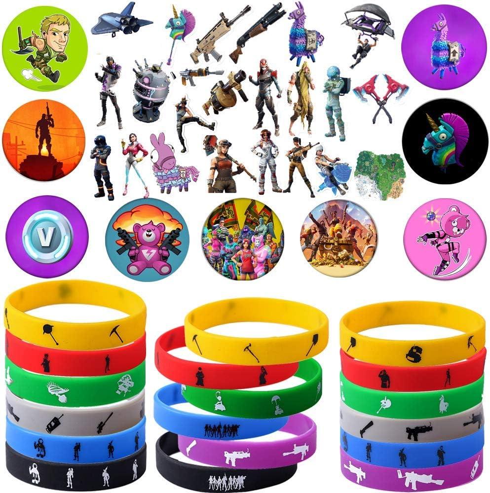 Amazon.com: Suministros para fiestas de juegos, 76 unidades ...