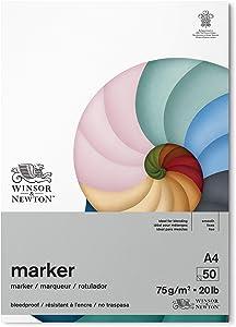 Winsor & Newton 6002008 A4 White Marker Paper