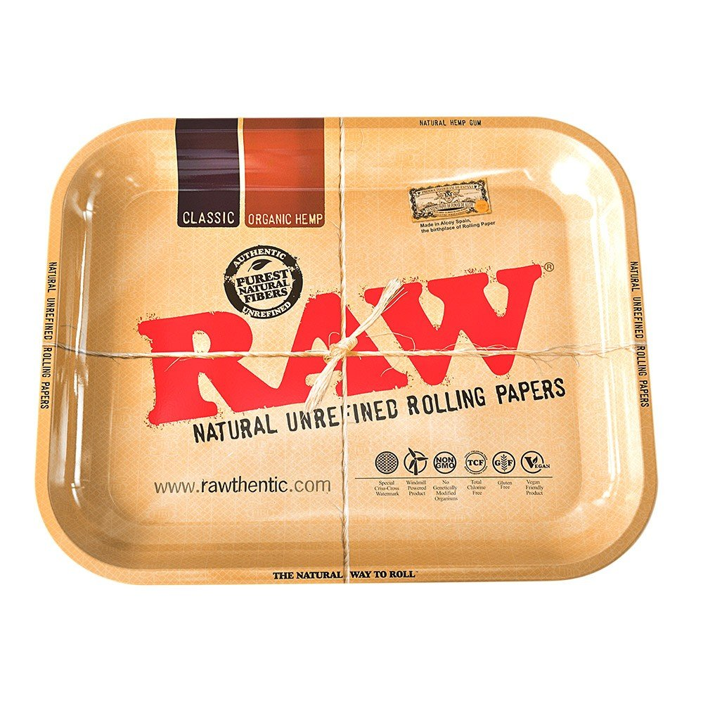 Mini RAW Mini Rolling Tray (10 Trays) - MJ-2789
