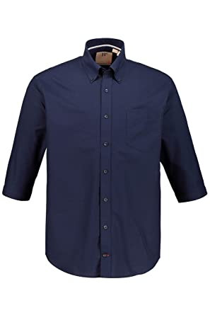 10f3b8ed069 Amazon.com  JP 1880 Men s Big   Tall Summer Oxford Shirt 717005  JP ...