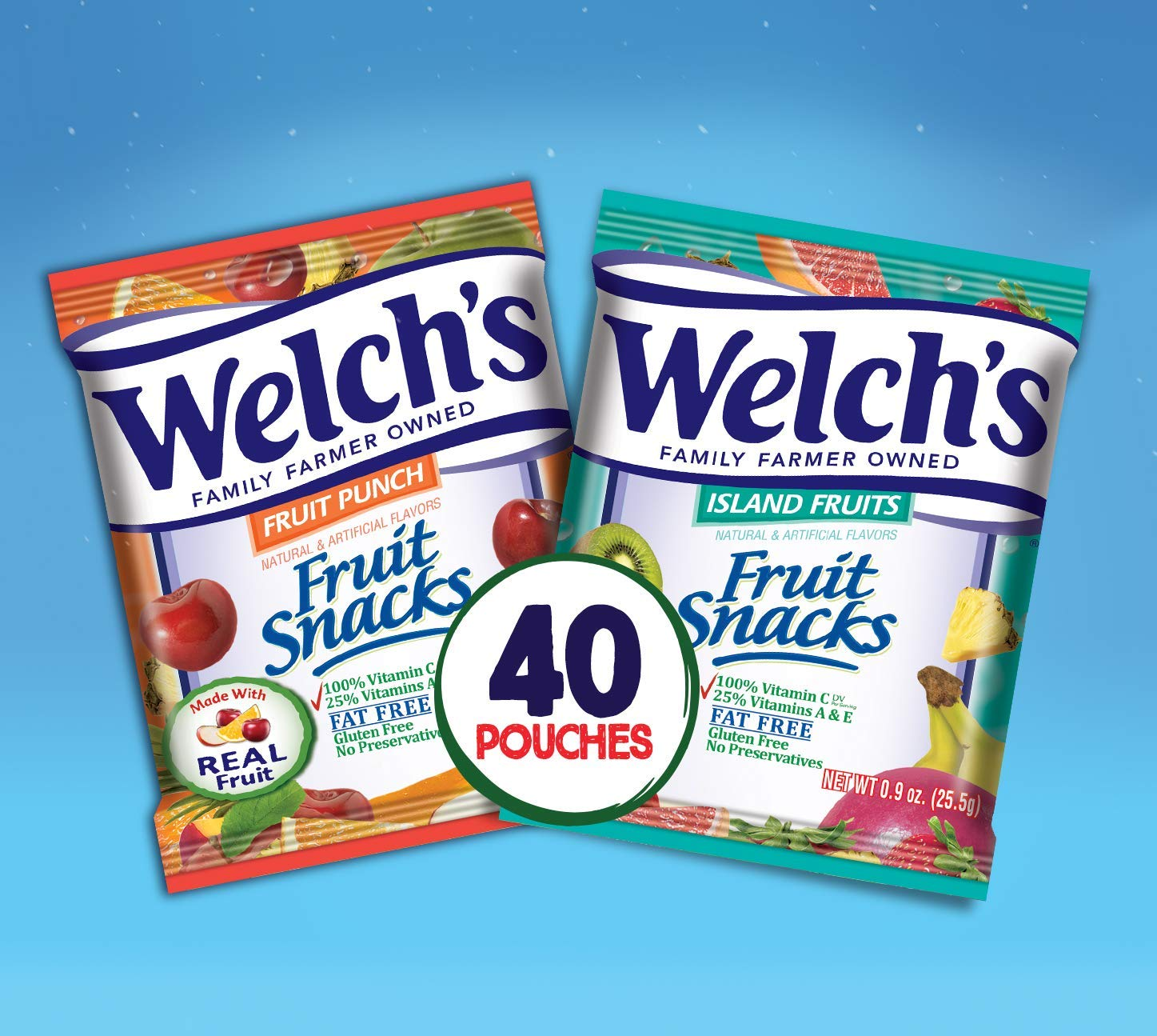 Welch's Fruit Snacks (Fruit Punch & Island Snacks (40 Count)) by Welch's (Image #2)