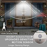 Solar Lights Outdoor Motion Sensor Security