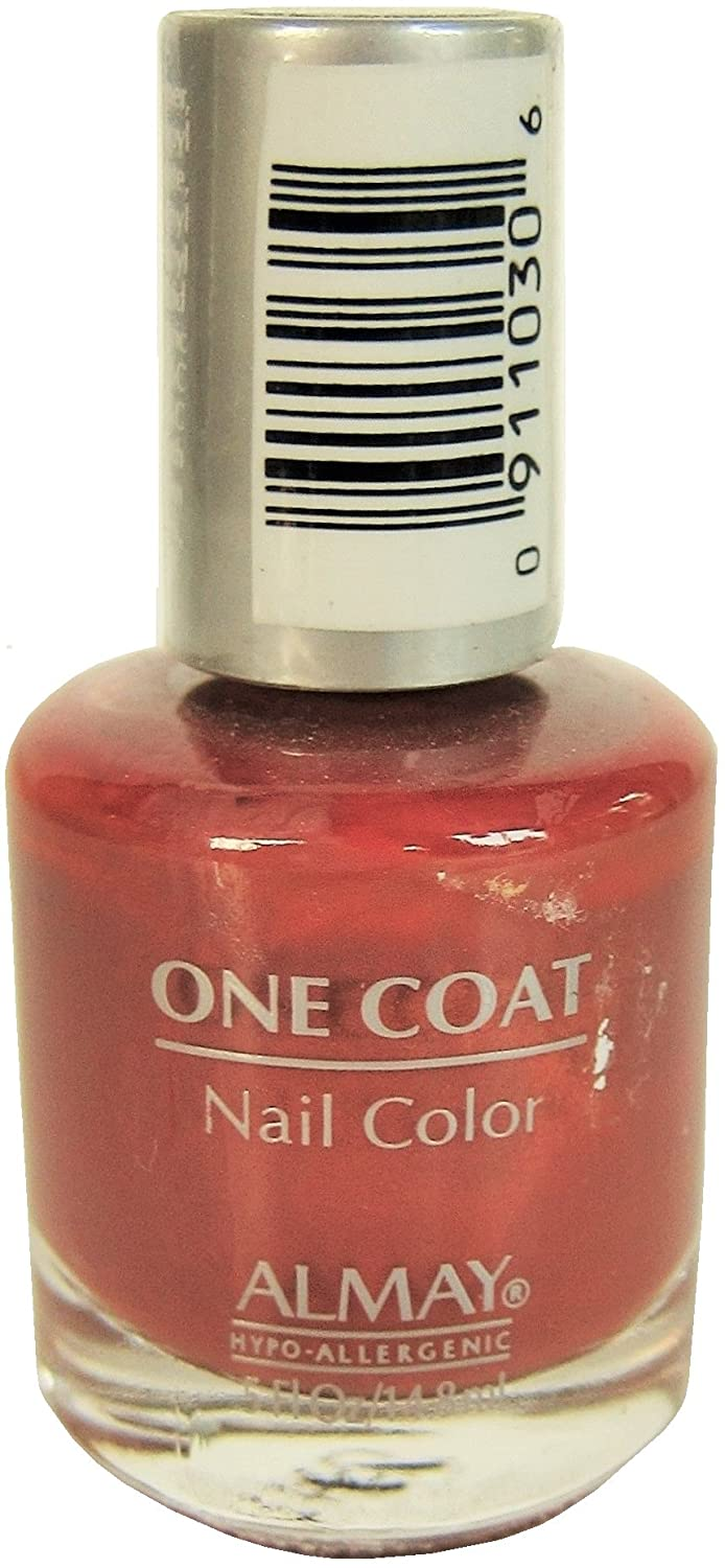 Amazon.com : Almay One Coat Nail Color, 59 Luscious, 0.5 Fl Oz ...