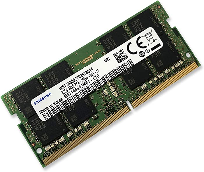 Top 10 1 X 32Gb Ddr4 Laptop Ram