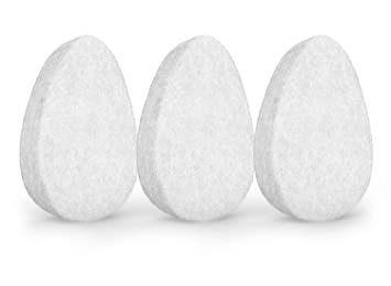 Amazon Com Facial Exfoliating Sponge Skin Exfoliation Tool For Face And Body Gentle Deep Cleansing Improves Texture Good For All Skin Types Hypoallergenic Set Of 3 Sponges By Christina Moss Naturals Beauty