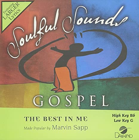 The best in me [music download]: marvin sapp christianbook. Com.