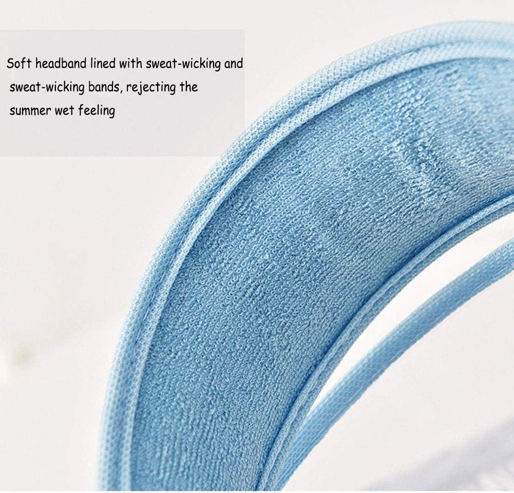 en Forma Ni/ño Ni/ña,Visera De Verano Port/átil Utilizando LILIJIA M/áscara Facial Protectora De Cara Completa Anti Saliva Al Aire Libre Seguridad Gorra Rosado