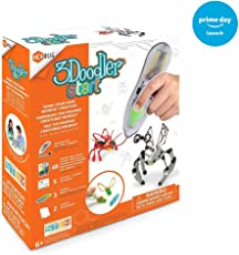 3Doodler Make Your Own HEXBUG Creature 3D Printing Pen Set, Amazon Exclusive, with 2 Additional Insectoid DoodleMold