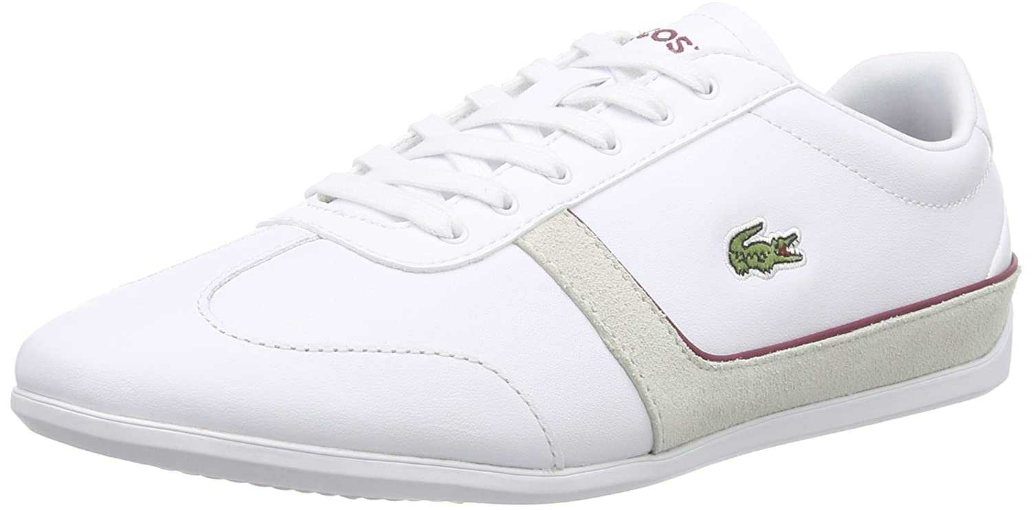 Lacoste Women's MISSANO Sport TRC Low-Top Trainer White Size: 8:  Amazon.co.uk: Shoes & Bags