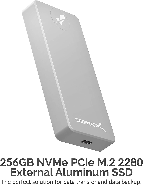 Sabrent Rocket Pro 256GB USB 3.2 SSD Externo de Aluminio (SB-256 ...