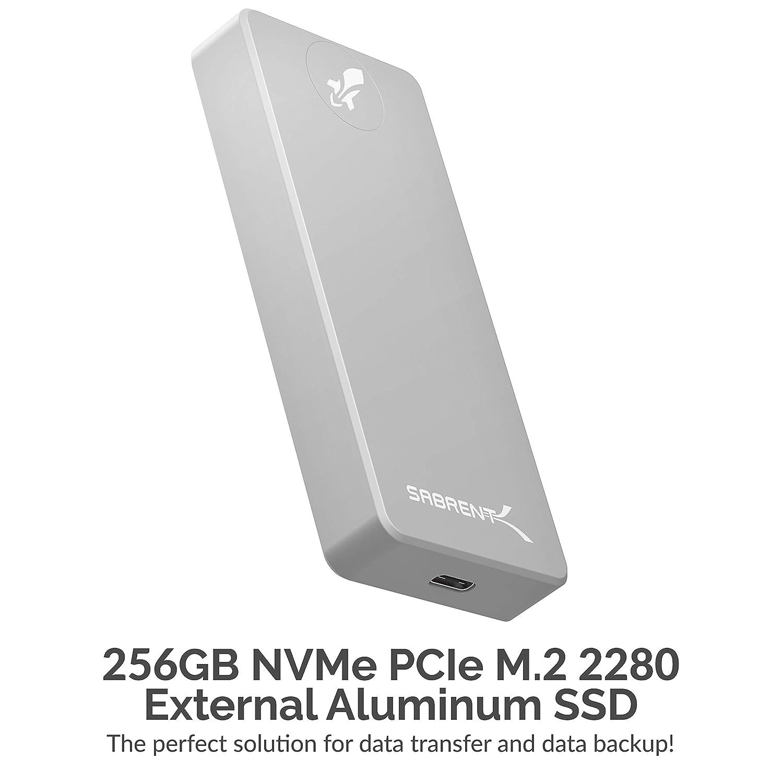 Sabrent Rocket Pro 512GB USB 3.2 External Aluminum SSD SB-512-PRO