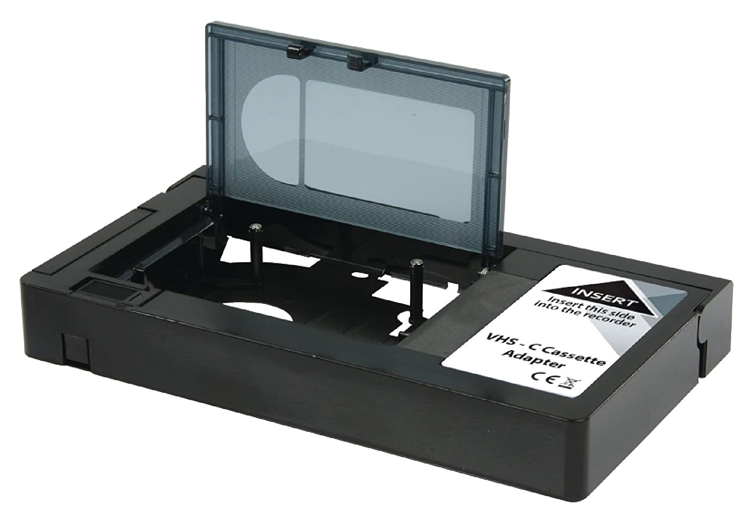 Konig Converter VHS-C to VHS Black (NOT Suitable for 8mm Tapes) [KN-VHS-C-ADAPT]
