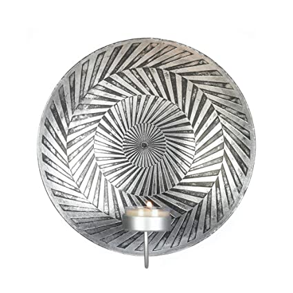 Wall Sconce Candle Holder, Modern Decorative Wall Candle Sconce Plate