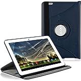 kwmobile Cover 360°per Acer Iconia Tab 10 (A3-A20) Cover con supporto- cover prottetiva tablet cover con funzione supporto in colore blu scuro