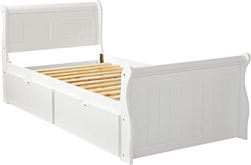 Donco Kids Sleigh Bed