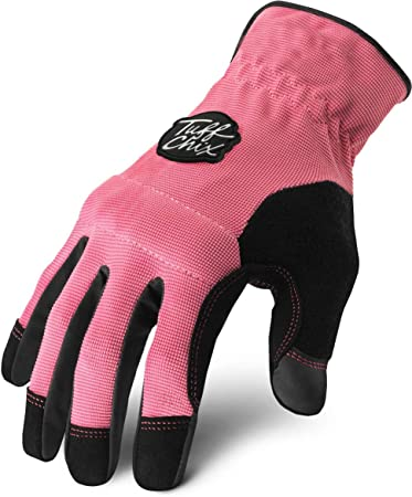Small Red Womens Girls Tactical Work Gloves Hard Knuckle Mechanic Sale