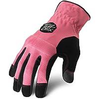 Ironclad Tuff-Chix Evolution Gloves, Small, Pink