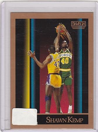 2a1451a406ccb Amazon.com : 1990 91 Skybox Basketball - Shawn Kemp Rookie Card ...