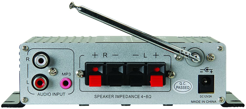 Lepai Lp A68 Digital 2 X 15w Amplifier With Remote Usb Tripath Ta2020 Class T Mini Amp Hifi Stereo Audio Mp3 Sd Fm Home Theater