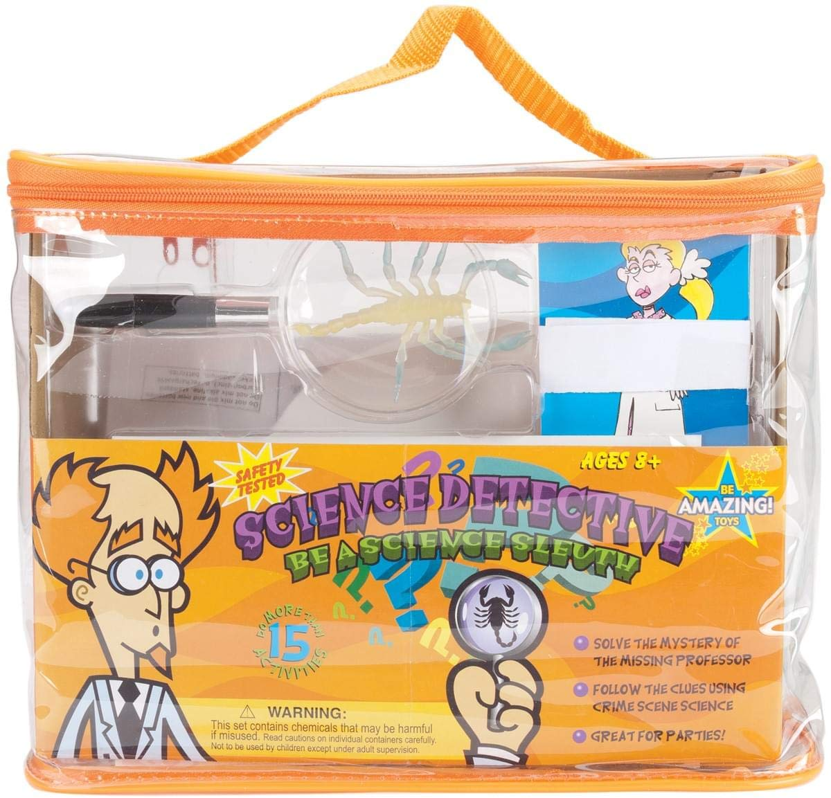 Science Detective Kit- Be Amazing Toys 4480