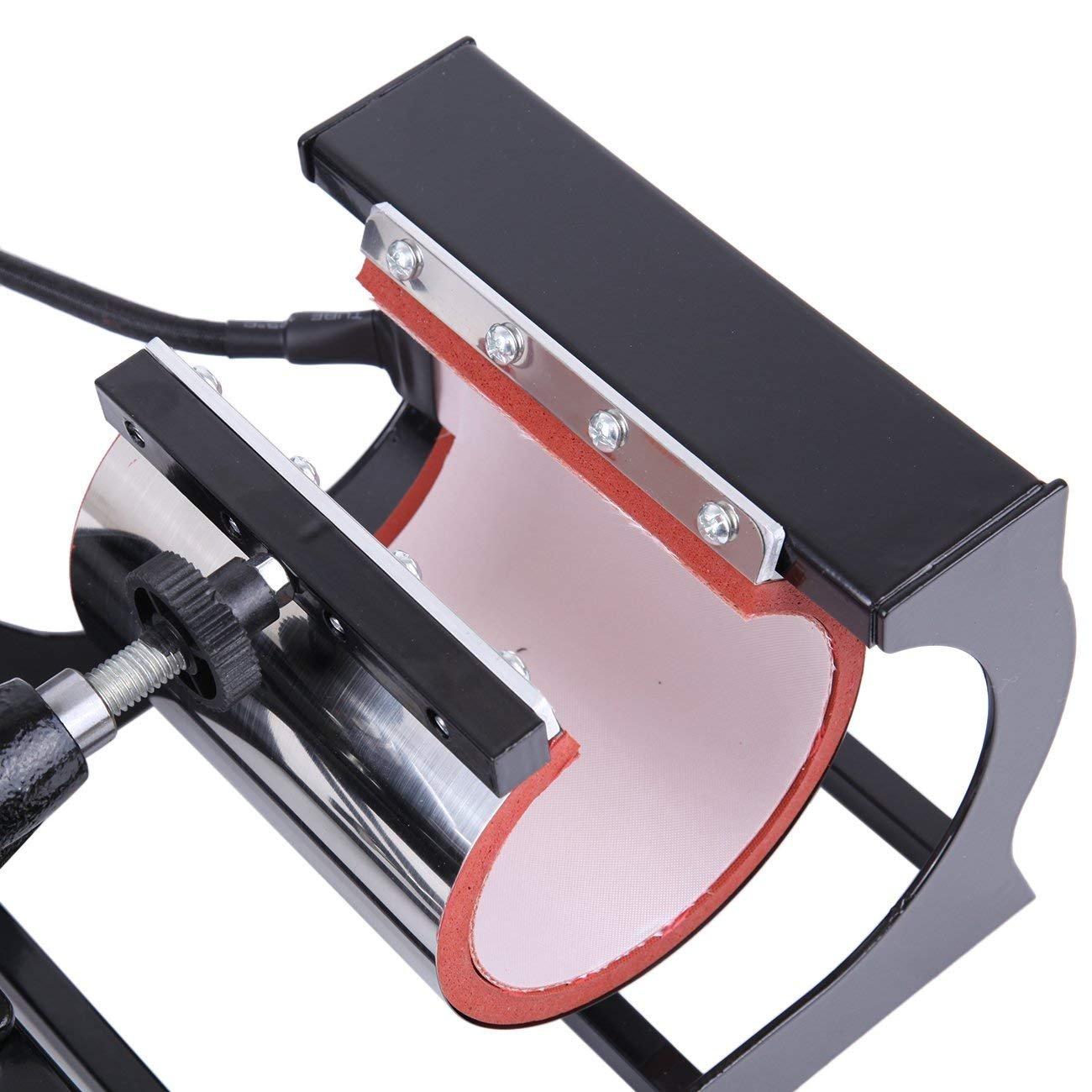 Ridgeyard Prensa de Calor 8 En 1 Digital T/érmica para Sublimaci/ón para Camisetas Tazas Gorras y Platos 15X12
