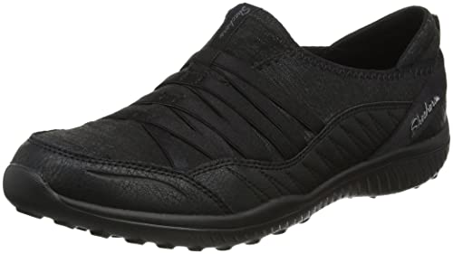 Skechers Be-Light-On The Groove, Zapatillas para Mujer, Negro (Black), 37 EU
