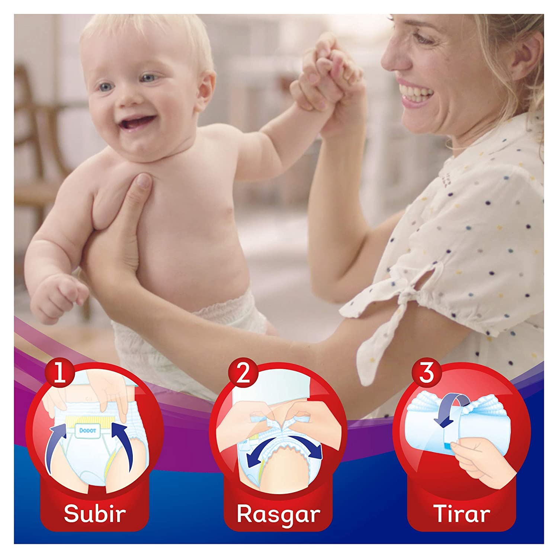 Dodot Activity - Pants Pañal-Braguita Talla 6, Fácil de Cambiar con Canales de Aire, 37 Pañales, 15+ kg: Amazon.es: Bebé