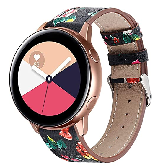 8c54b4924a3 Compatible with Galaxy Watch Active Bands Galaxy Watch 42mm Band  Leather