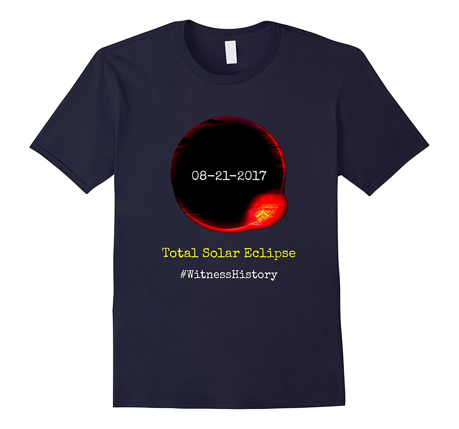 08212017 Total Solar Eclipse Sun Moon t-shirt-PL