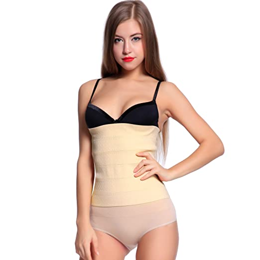 61ba4841f9 Image Unavailable. Image not available for. Color  Instant Slim Firm Control  Girdle Shaper Tummy Waist Slimming Shapewear