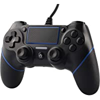 ETPARK&1 Mando para PS4, Mando PS4 - Gamepad Control para PS4/Pro/Slim/PC con Indicador LED, Gamepad con Vibración Dual…
