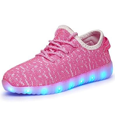 QOUJEILY Zapatillas de Material Sintético Para Hombre, Color Rosa, Talla 38 EU