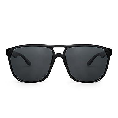 Jim Halo Gafas de Sol Aviador Polarizadas Plano Superior Ligero Peso de Espejo Anteojos Hombre Mujer