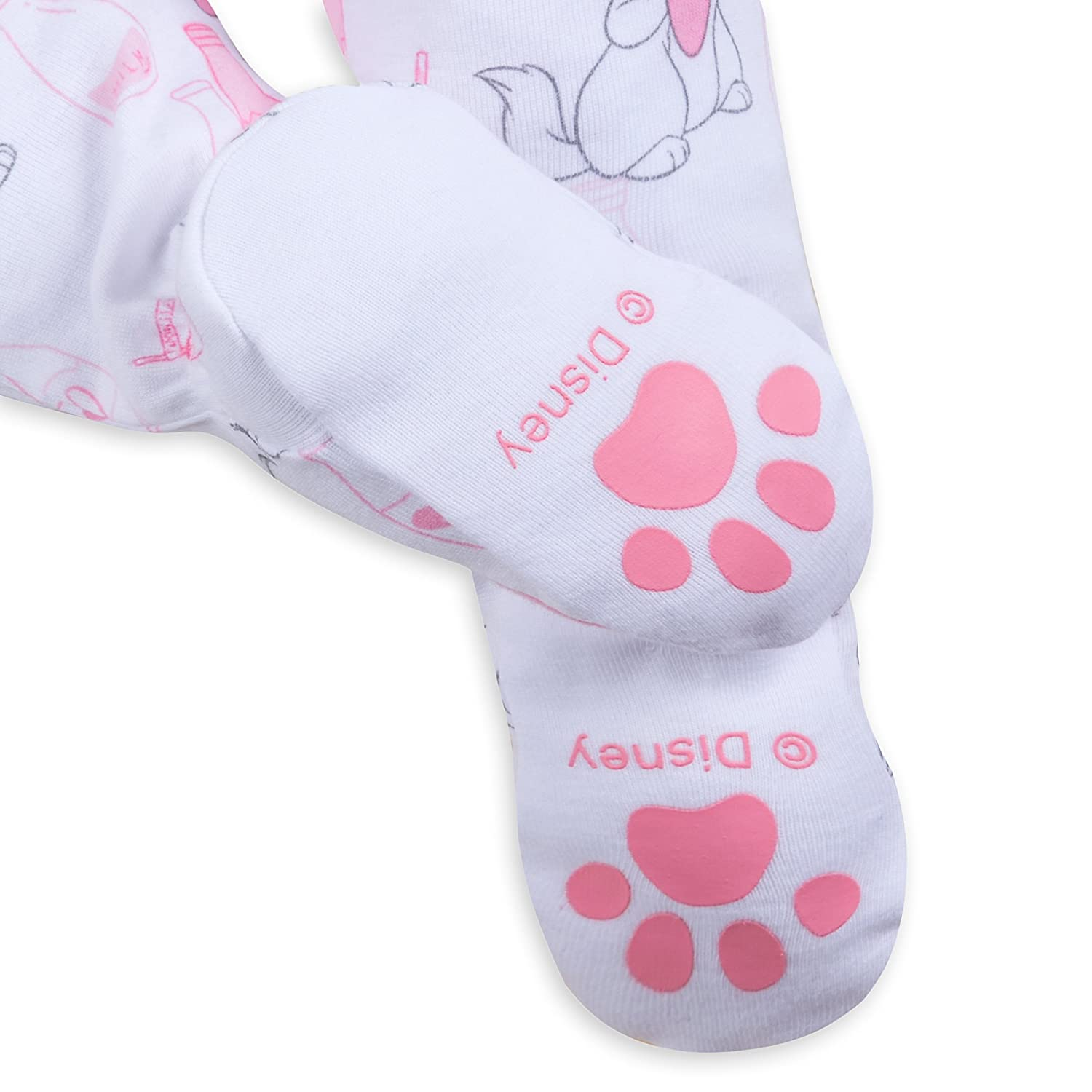 62911f65b8 Amazon.com  Disney Marie Footed Stretchie Sleeper for Baby - The Aristocats  Size 0-3 MO Multi  Baby