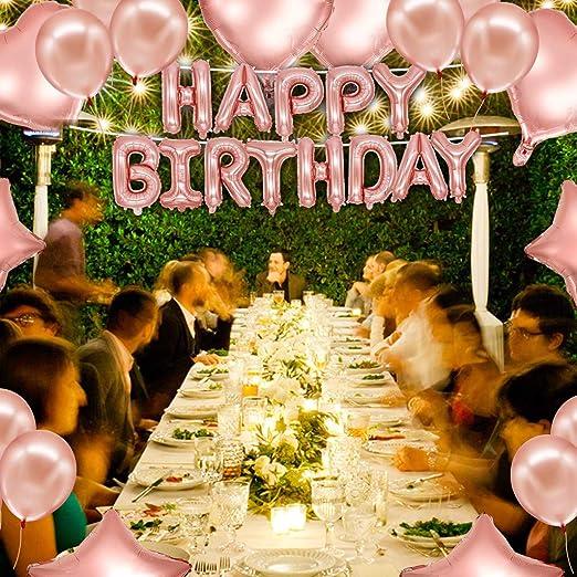 Amazon.com: UMFuns s Happy Birthday Decor Balloons Kit ...