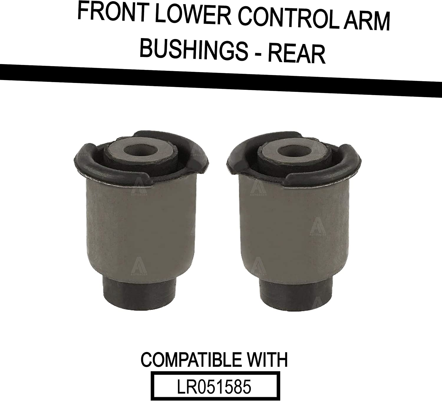 8 Piece Front Upper /& Lower Control Arm Bushing Kit Compatible with Land Range Rover Sport 2005-2013 AUTOACER