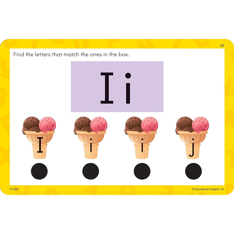 amazon com educational insights dots jr cards the alphabet