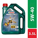 Castrol MAGNATEC SUV 5W-40 Full Synthetic Engine Oil for Petrol, CNG and Diesel SUVs (3.5L)