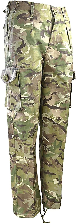 Kids Camo Cappotto Maglietta e Pantaloni Set Regalo per Bambini Militare Esercito Set 23