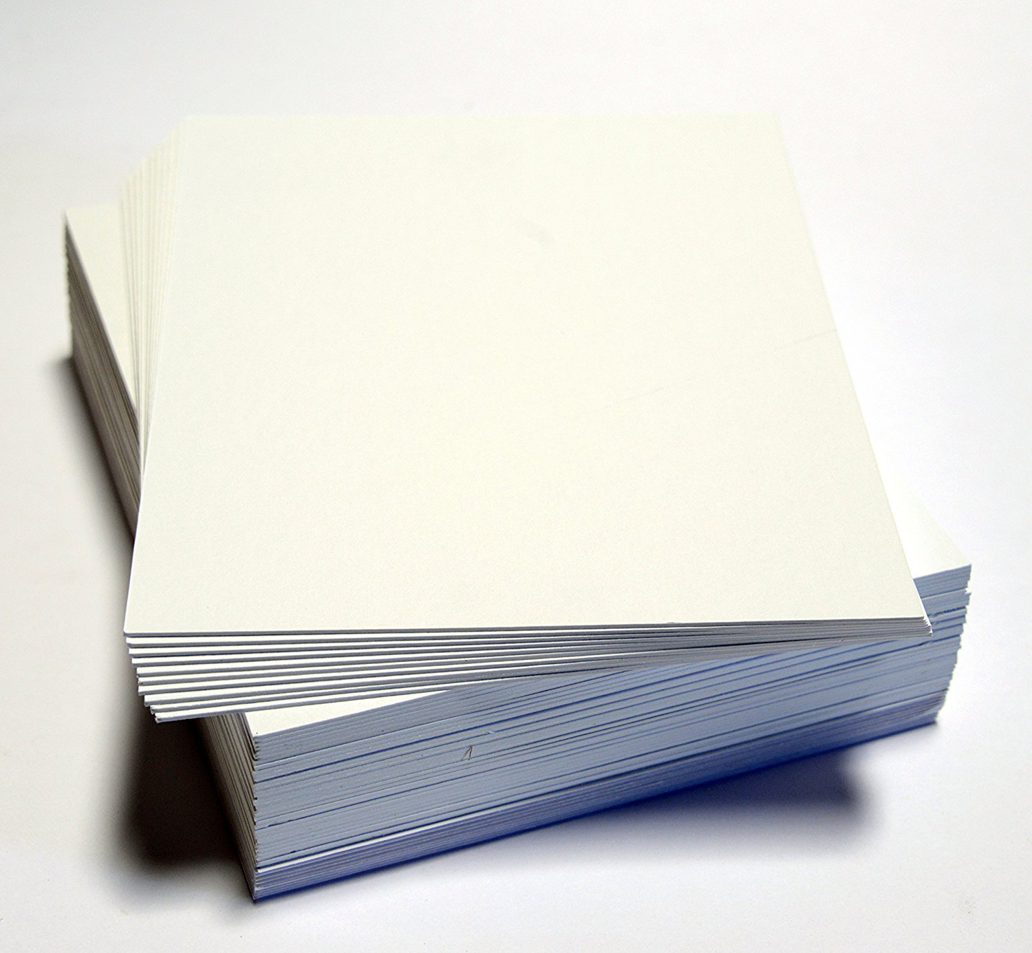 topseller100, Pack of 50 sheets 11x14 UNCUT mat matboard WHITE Color by Unknown