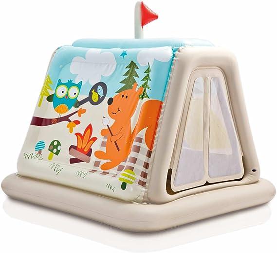 Intex - Tienda de campaña con animales para niños de 3 a 6 ...