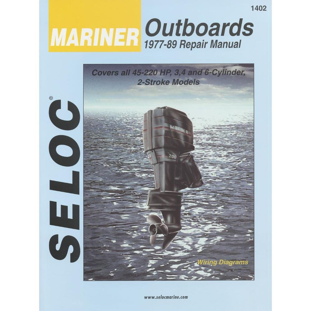 Amazon.com : MARINER Outboard 1977-1989, 3, 4 & 6 Cylinder Repair Manual :  Boating Hardware And Maintenance Supplies : Sports & Outdoors